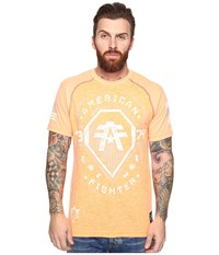 American Fighter Merrimack Short Sleeve Football Crew Tee Neon Orange Men's Clothing