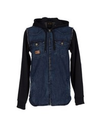 Analog Denim Outerwear Blue