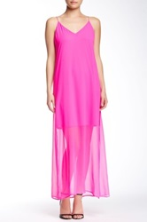 Muse Crossed Back Maxi Dress Pink
