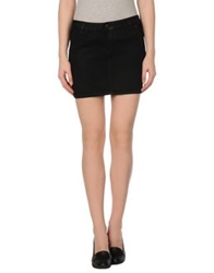 J Brand Mini Skirts Black