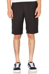 Stussy Wool Dress Beach Short Navy