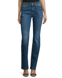 Escada Mid Rise Slim Fit Jeans Medium Blue Women's