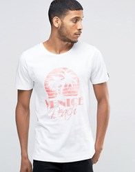 Wasted Youth Venice Beach T Shirt White