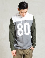 The Hundreds Grey Calvin Ls Hooded Knit