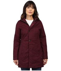 G Star Minor Classic Coat Maroon Women's Coat Red