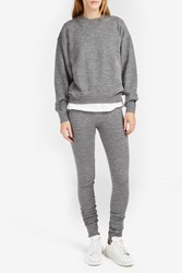 Acne Studios Women S Jong Alpaca Leggings Boutique1 Grey