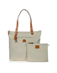 Bric's X Bag Large 3 In One Tote Bag Pearl