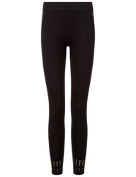 Pepper And Mayne Black Seamless Cut Out Leggings