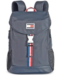 Tommy Hilfiger Men's Ripstop Nylon Backpack Navy