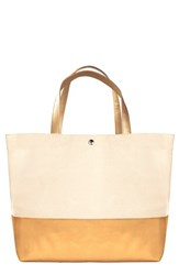 Cathy's Concepts Personalized Canvas Tote Metallic Gold