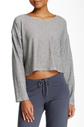 American Apparel Boxy Long Sleeve Tee Multi