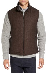Corneliani Men's Reversible Wool Blend Vest