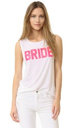 Private Party Bride Tank White