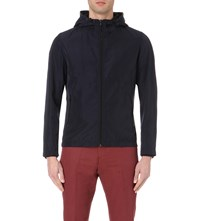 Reiss Ribery Hooded Technical Shell Jacket Midnight