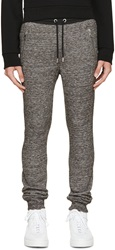 Diesel Brown French Terry Lounge Pants