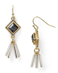 Dylan Gray Tassel Stud Earrings Bloomingdale's Exclusive Gold Black