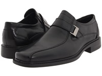 Ecco New Jersey Slip On Buckle Black Leather Men's Slip On Dress Shoes