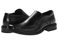 Bass Alberta Black Leather Men's Slip On Dress Shoes