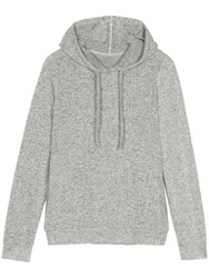 Fat Face Weston Soft Long Hoodie Grey