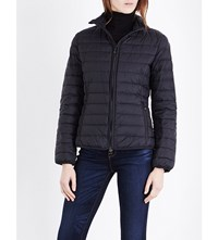 Armani Jeans Quilted Shell Puffa Jacket Nero