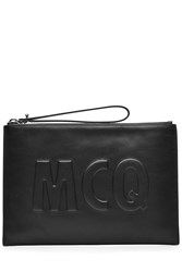 Mcq By Alexander Mcqueen Leather Clutch Black
