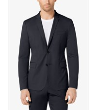 Slim Fit Stretch Poplin Cotton Blazer