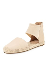 Eileen Fisher Coy Leather Espadrille Flat Desert Women's