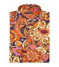 Tom Ford Floral Print Shirt Male