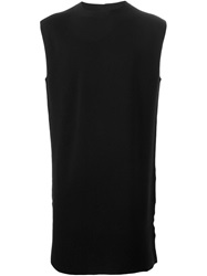 Rick Owens Sleeveless Knit Top Black