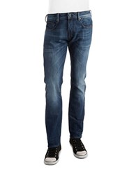 G Star Attacc Straight Leg Jeans Aged Blue