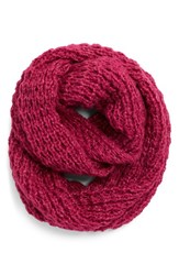 Women's Halogen Waffle Knit Infinity Scarf Pink Pink Plumier