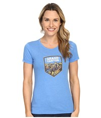 Columbia National Parks Tee Harbor Blue Heather Grand Canyon Women's T Shirt