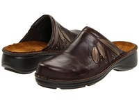 Naot Footwear Anise Oak Leather Antique Copper Leather Brown Shimmer Nubuck Women's Clog Shoes