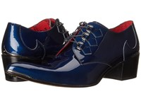 Jeffery West D Ring Gibson Charcoal Metal Dark Blue Men's Shoes