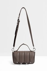 Marco De Vincenzo Contrasting Strap Shoulder Bag Grey