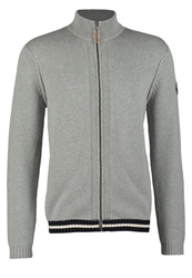 Harris Wilson Lexus Cardigan Gris Chine Clair Light Grey