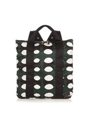 Marni X Porter Pop Print Backpack Green Multi