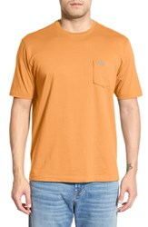 Men's Big And Tall Tommy Bahama 'New Bali Sky' Pima Cotton Pocket T Shirt Frosted Orange