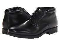 Rockport Essential Details Waterproof Dress Chukka Black Men's Lace Up Boots