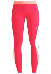 Skins Dnamic Tights Rossa Red