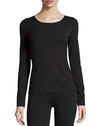 Wolford Pure Long Sleeve Pullover Top