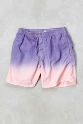 Urban Outfitters Uo George Dip Dye Nylon Short Pink
