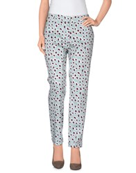 Escada Sport Trousers Casual Trousers Women Sky Blue