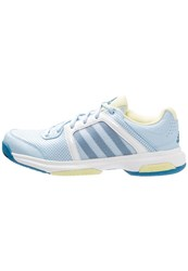 Adidas Performance Barricade Aspire Outdoor Tennis Shoes Ice Blue Unity Blue Ice Yellow