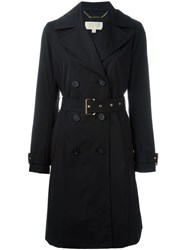 Michael Michael Kors Belted Trench Coat Black