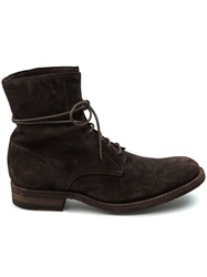 L'eclaireur Made By Distressed Ankle Boot Brown