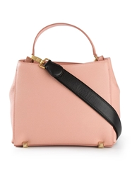 Mcm Shoulder Strap Tote Pink And Purple