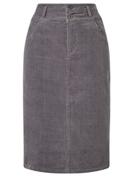 John Lewis Collection Weekend By Kerris Cord Pencil Skirt Grey