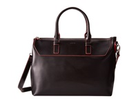 Lodis Audrey Wilhelmina Work Satchel Black Red Satchel Handbags