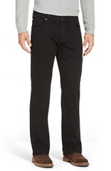Men's 7 For All Mankind 'Brett Luxe Performance' Bootcut Jeans Nightshade Black